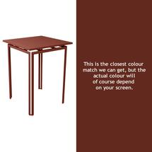 Costa High Table - Red Ochre