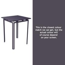 Costa High Table - Plum