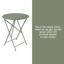 Bistro 60cm Round Table - Cactus
