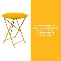 Bistro 60cm Round Table - Honey