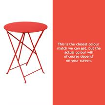 Bistro 60cm Round Table - Capucine
