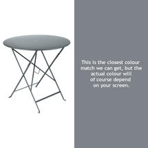 Bistro 77cm Round Table - Storm Grey