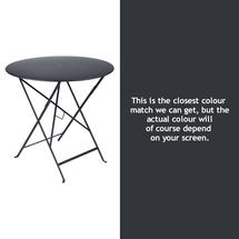Bistro 77cm Round Table - Anthracite