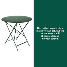 Bistro 77cm Round Table - Cedar Green
