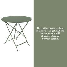 Bistro 77cm Round Table - Cactus