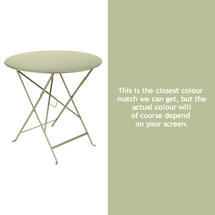 Bistro 77cm Round Table - Willow Green