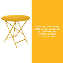 Bistro 77cm Round Table - Honey