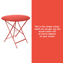 Bistro 77cm Round Table - Capucine