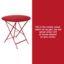 Bistro 77cm Round Table - Poppy