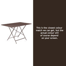 Bistro 117x77 Table - Russet