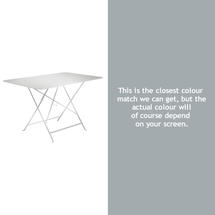 Bistro 117x77 Table - Steel Grey