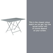 Bistro 117x77 Table - Storm Grey