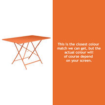 Bistro 117x77 Table - Carrot