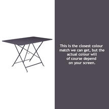 Bistro 117x77 Table - Plum
