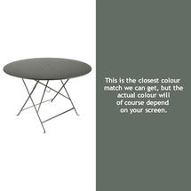Bistro 117cm Round Table - Rosemary