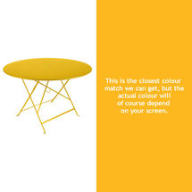 Bistro 117cm Round Table - Honey