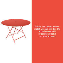 Bistro 117cm Round Table - Capucine