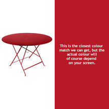 Bistro 117cm Round Table - Poppy