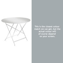 Bistro 96cm Round Table - Steel Grey