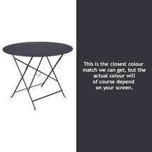 Bistro 96cm Round Table - Anthracite