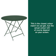 Bistro 96cm Round Table - Cedar Green