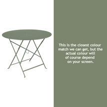 Bistro 96cm Round Table - Cactus