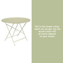 Bistro 96cm Round Table - Willow Green