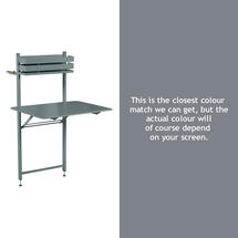 Bistro Balcony Table - Storm Grey