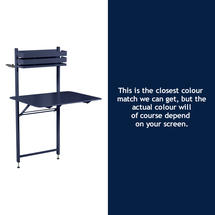 Bistro Balcony Table - Deep Blue