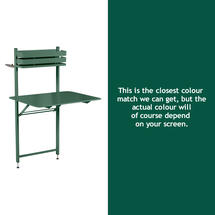 Bistro Balcony Table - Cedar Green