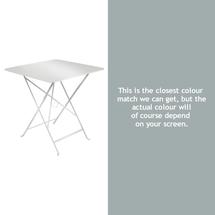 Bistro 71cm Square Table - Steel Grey