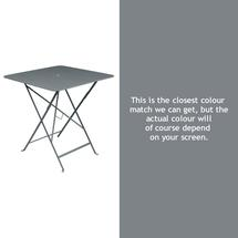 Bistro 71cm Square Table - Storm Grey
