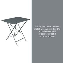 Bistro 77x57 Table - Storm Grey