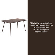 Luxembourg 143 x 80 Table - Russet