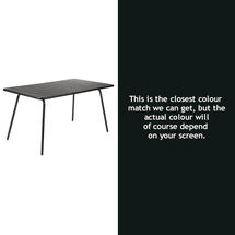 Luxembourg 143 x 80 Table - Liquorice