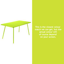 Luxembourg 143 x 80 Table - Verbena Green