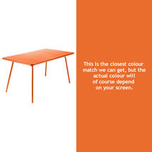 Luxembourg 143 x 80 Table - Carrot