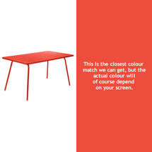 Luxembourg 143 x 80 Table - Capucine