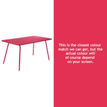 Luxembourg 143 x 80 Table - Pink Praline