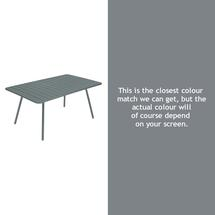 Luxembourg 165 x 100 Table - Storm Grey