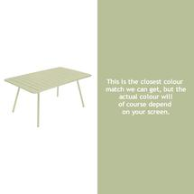 Luxembourg 165 x 100 Table - Willow Green