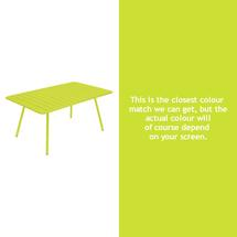 Luxembourg 165 x 100 Table - Verbena Green