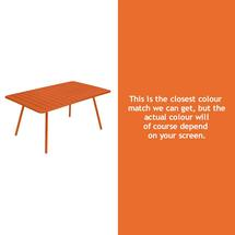 Luxembourg 165 x 100 Table - Carrot