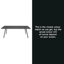 Luxembourg 207 x 100 Table - Liquorice