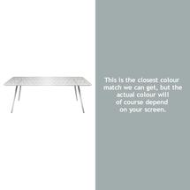 Luxembourg 207 x 100 Table - Steel Grey