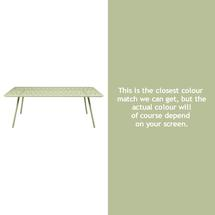 Luxembourg 207 x 100 Table - Willow Green