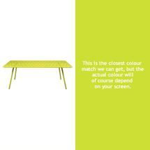 Luxembourg 207 x 100 Table - Verbena Green