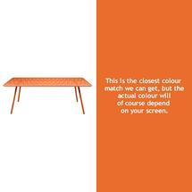 Luxembourg 207 x 100 Table - Carrot