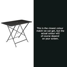 Bistro 97x57 Table - Liquorice