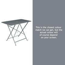Bistro 97x57 Table - Storm Grey